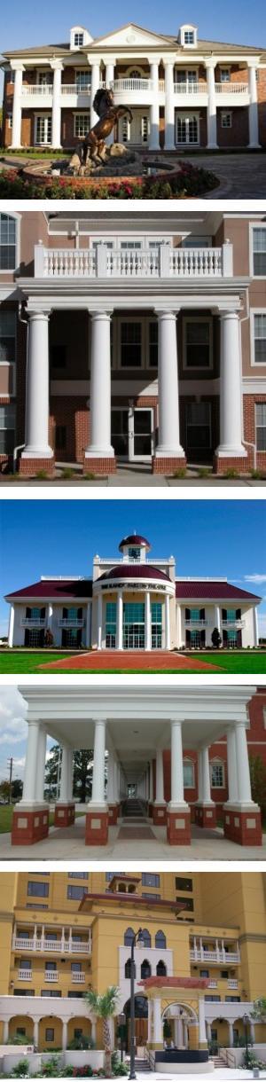 FRP Classic™ Fiberglass Column Covers
