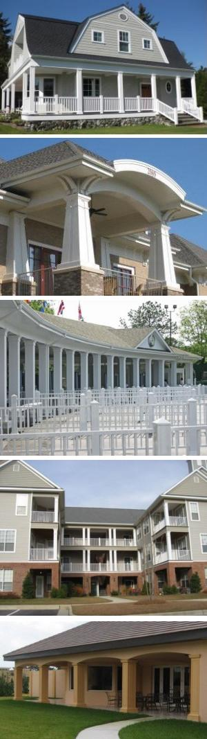 MeltonCraft™ CPVC Column Covers