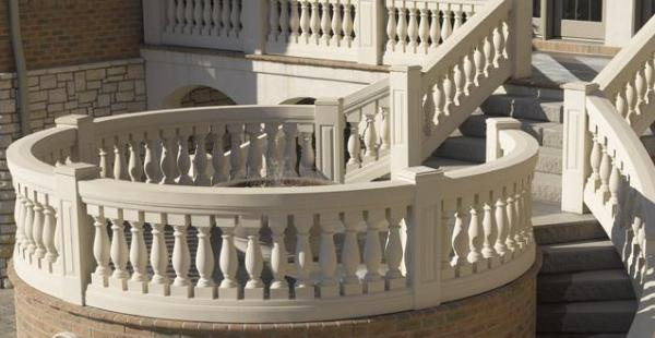 MarbleTex™ Synthetic Marble Balustrades