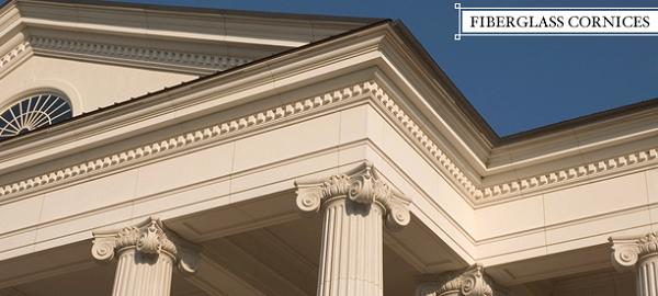 Architectural Cornices Mouldings : Frp classic™ fiberglass cornices architectural columns