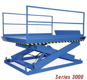 3000 Series Recessed Dock Lifts: 8-20K LBS CAP