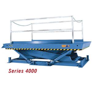 4000 Series Recessed Dock Lifts: 12-20K LBS CAP