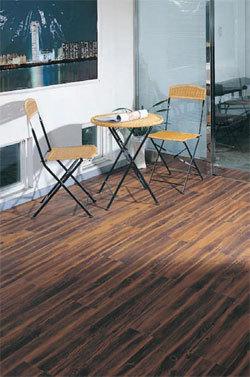 Burke Luxury Vinyl Tile - Natural Wood Planks
