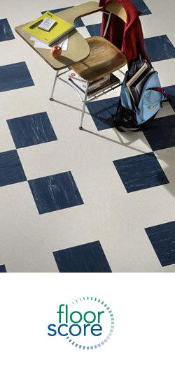 Burke Marble Rubber Floor Tile and Stair Treads