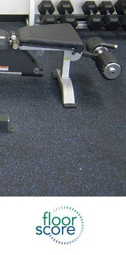 EcoFitness Flecksibles Rubber Sports Flooring