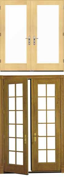 Pella French Doors architect series® in-swing hinged patio doors – pella corporation