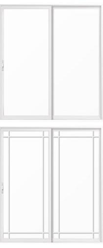 pella impervia fiberglass sliding patio doors