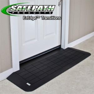EZ Edge™ Transition Wheelchair Ramps – ADA Threshold Ramps