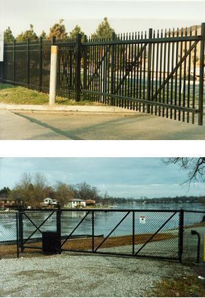 ZipTrack Cantilever Gates