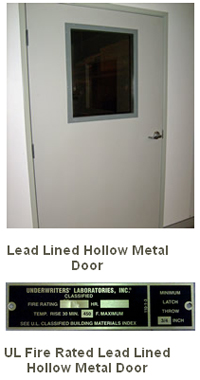 Lead Lined Hollow Metal Doors & Lead Lined Hollow Metal Doors u2013 Ray-Bar Engineering Corporation - Sweets