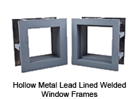 Lead Lined Telescopic View Windows