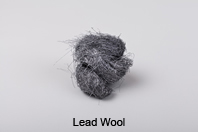 Lead Tape, Wool and Wire