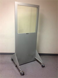 Mobile X-Ray Control Screen Barriers
