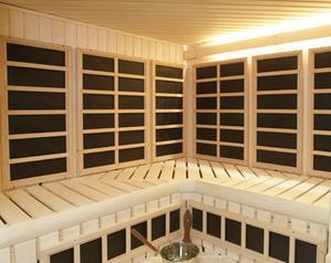 Helo Custom Infrared Saunas