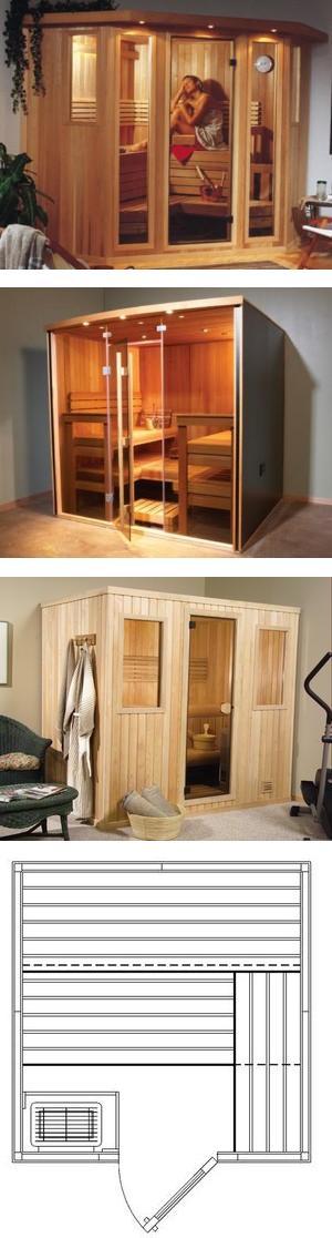 Panel-Built Saunas