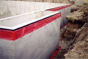 Commercial Below Grade Foundation Waterproofing