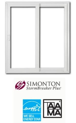 StormBreaker Plus 300VL Vinyl Patio Door