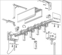 3 5 Pvc Amp Fabric Vertical Blinds Mariak Industries Sweets