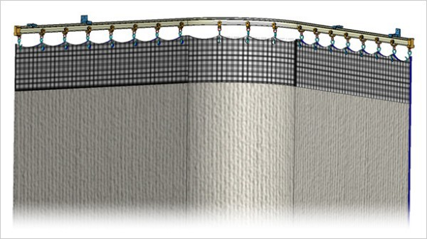 Cubicle curtains, cubicle tracks and window coverings - Covoc