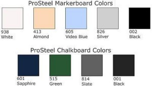 PROSTEEL Marker and Chalk Boards