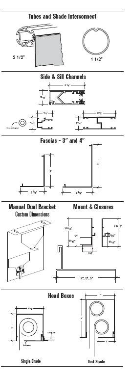 Manual Shades