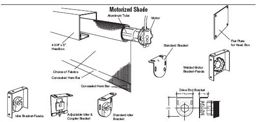 Motorized Shades