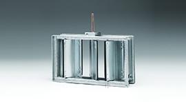 CD60V: Vertical Commercial Control Damper