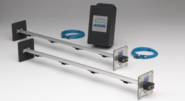 EAMP: Air Measuring Probe, LCD Display, 0-4,000 FPM, Electronic, Thermal Dispersion, Air Flow & Temperature