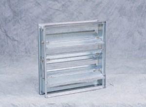 "MD35: Galv. rectangluar, light duty, balancing damper, 1500 FPM, 3"" w.c. max."