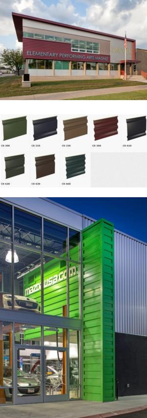 Profile Series - Concept Series® Concealed Fastener Wall Panels