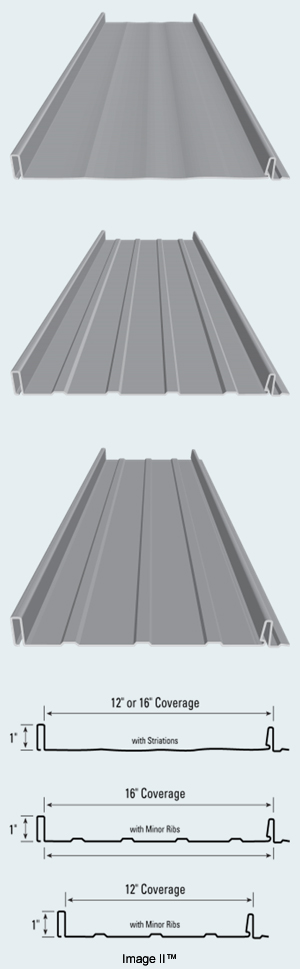 Image Ii Non Structural Standing Seam Metal Roof Panel
