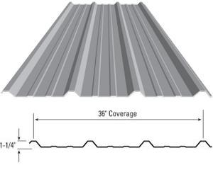 PBR Metal Roof And Wall Panel