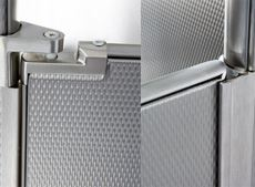 Headrail Braced Stainless Steel Toilet Partitions