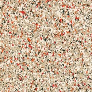 Reztec Rubber Flooring - Poppy