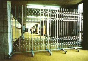 Portable Traffic Control/Security Gates