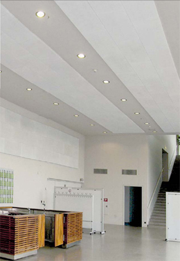 PHONSTOP™ Acoustical Ceiling and Wall Tiles - Recycled Glass