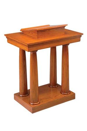 Wood and Custom Church Pulpits