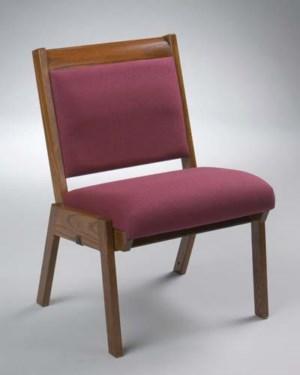 Model 87 Stackable Oak Wood Chairs