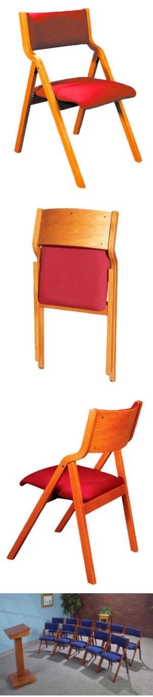 Model T380 Wood Folding Chair
