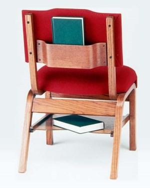 Model T350B Wood Frame Worship Chair