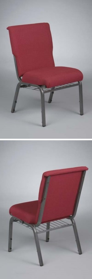 Model 65 Stackable Metal Frame Chairs