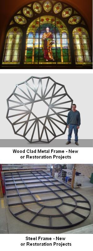 Stained Glass Windows - Restoration Work
