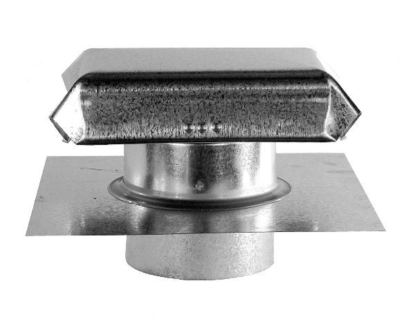 J Vent with Extension - Galvanized - JVX