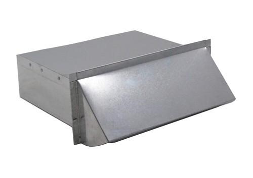 Rectangular Wall Vent 3-1/4 in. x 10 in. - Aluminum - WV310AC