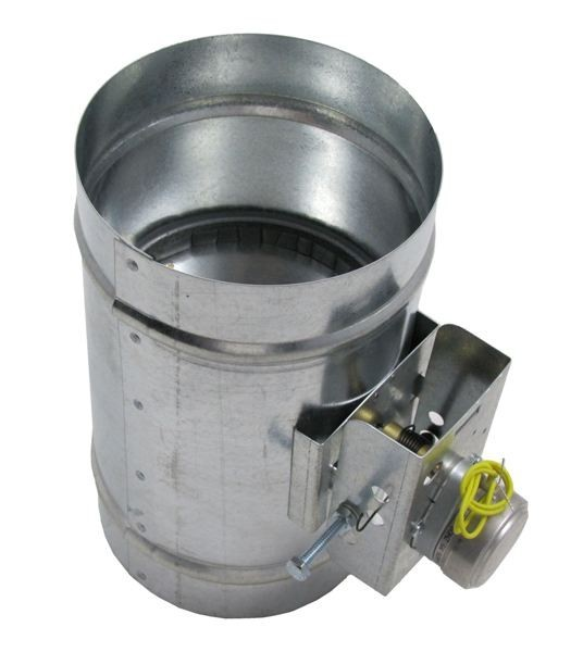 Motorized HVAC Damper – Normally Closed - ADC