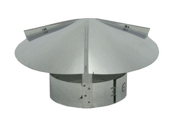 Cone Top Chimney Cap - Galvanized - CT