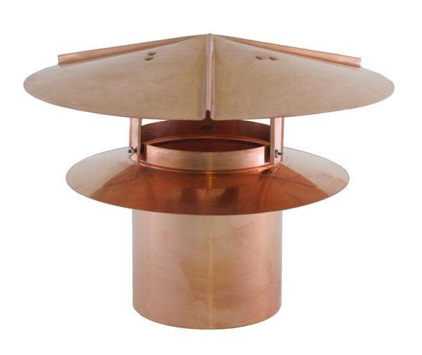 Universal Chimney Cap - Copper - UCCU