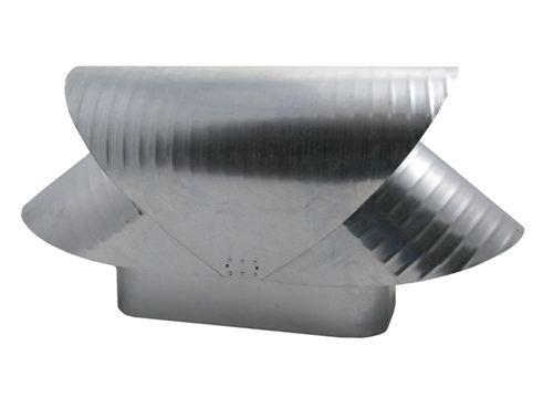 Square Flue Vacuum Cap - Galvanized - SQ