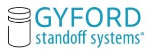 Sweets:Gyford Standoff Systems