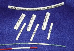 Heat Shrink Wire Markers